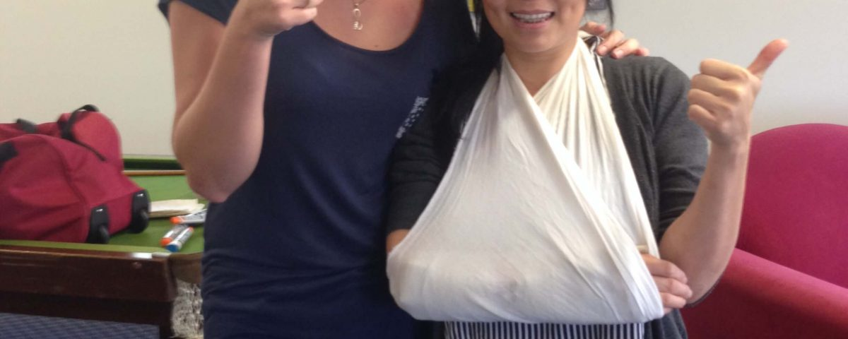 First Aid Course - Arm Sling
