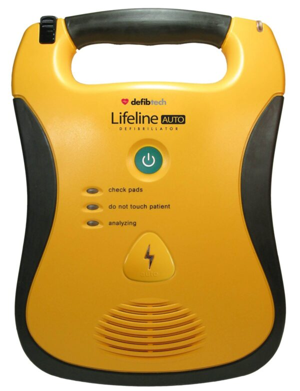 Lifeline Auto AED Automated External Defibrillator in Brisbane