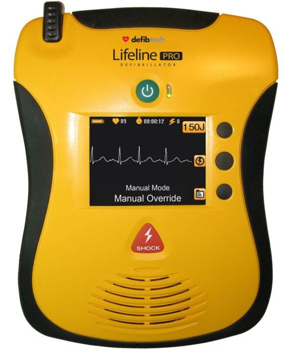 Lifeline Pro AED Automated External Defibrillator in Brisbane