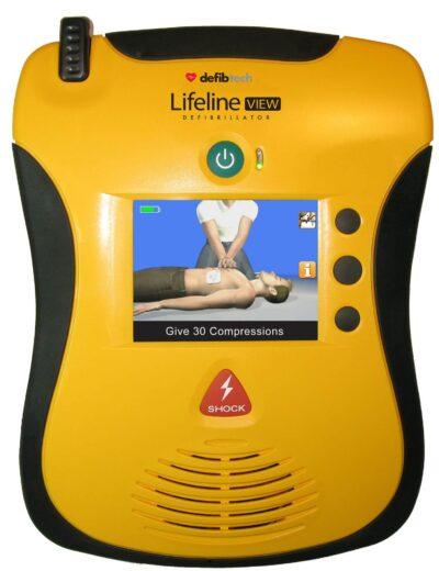 Defibtech Defibrillator | Lifeline VIEW AED Defibrillator