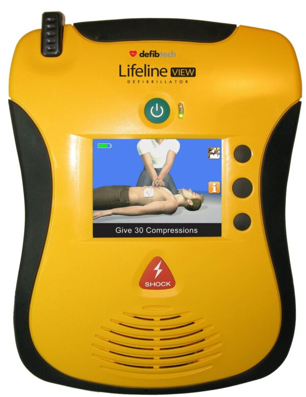 Lifeline View AED Automated External Defibrillator in Brisbane