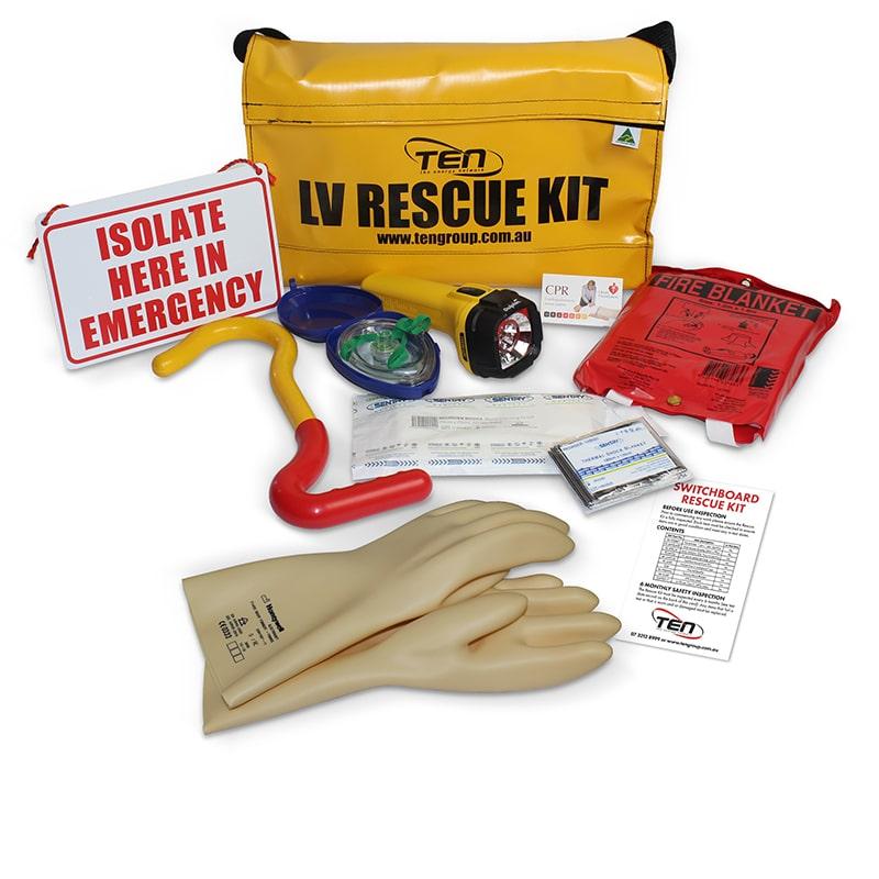 LV Rescue Kit Contents
