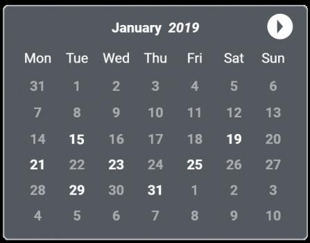 First Aid Course Calendar Jan 2019